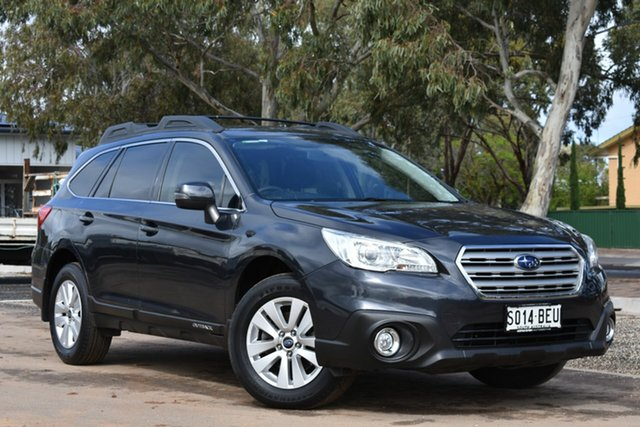 Used Subaru Outback B6A MY15 2.0D CVT AWD, 2015 Subaru Outback B6A MY15 2.0D CVT AWD Dark Blue 7 Speed Constant Variable Wagon