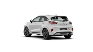 2020 Ford Puma JK 2020.75MY ST-Line Frozen White 7 Speed Sports Automatic Dual Clutch Wagon