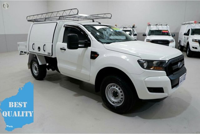 Used Ford Ranger PX MkII XL, 2016 Ford Ranger PX MkII XL White 6 Speed Sports Automatic Cab Chassis