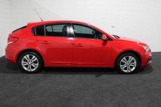 2015 Holden Cruze JH Series II MY16 Equipe Red Hot 6 Speed Sports Automatic Hatchback.