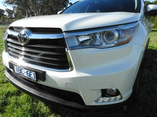 2014 Toyota Kluger GRANDE White 6 Speed Automatic Wagon