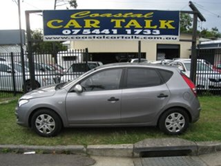 2011 Hyundai i30 FD MY11 SX 1.6 CRDi Silver 4 Speed Automatic Hatchback.