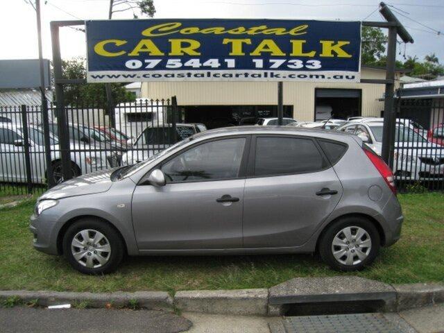 Used Hyundai i30 FD MY11 SX 1.6 CRDi, 2011 Hyundai i30 FD MY11 SX 1.6 CRDi Silver 4 Speed Automatic Hatchback
