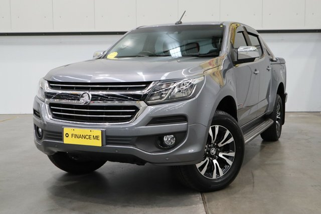 Used Holden Colorado RG MY18 LTZ (4x4), 2018 Holden Colorado RG MY18 LTZ (4x4) Grey 6 Speed Automatic Crew Cab Pickup