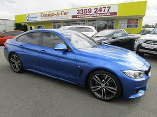 2015 BMW 4 Series F36 428i Gran Coupe M Sport Blue 8 Speed Sports Automatic Hatchback.