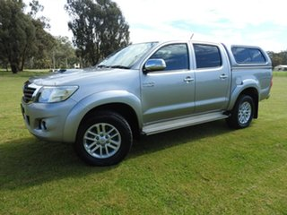 2014 Toyota Hilux SR5 Silver 5 Speed Automatic Utility.