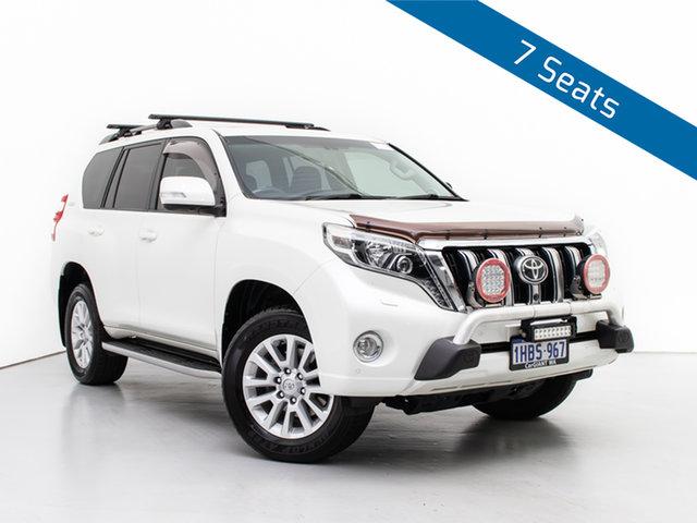 Used Toyota Landcruiser Prado GDJ150R MY16 Kakadu (4x4), 2016 Toyota Landcruiser Prado GDJ150R MY16 Kakadu (4x4) White 6 Speed Automatic Wagon