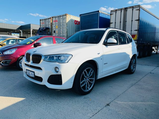Used BMW X3 F25 LCI xDrive20i Steptronic, 2016 BMW X3 F25 LCI xDrive20i Steptronic White 8 Speed Automatic Wagon