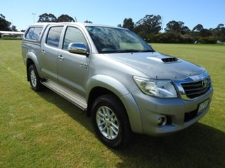 2014 Toyota Hilux SR5 Silver 5 Speed Automatic Utility
