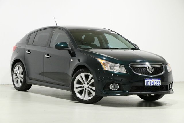 Used Holden Cruze JH MY14 SRi V, 2013 Holden Cruze JH MY14 SRi V Green 6 Speed Automatic Hatchback