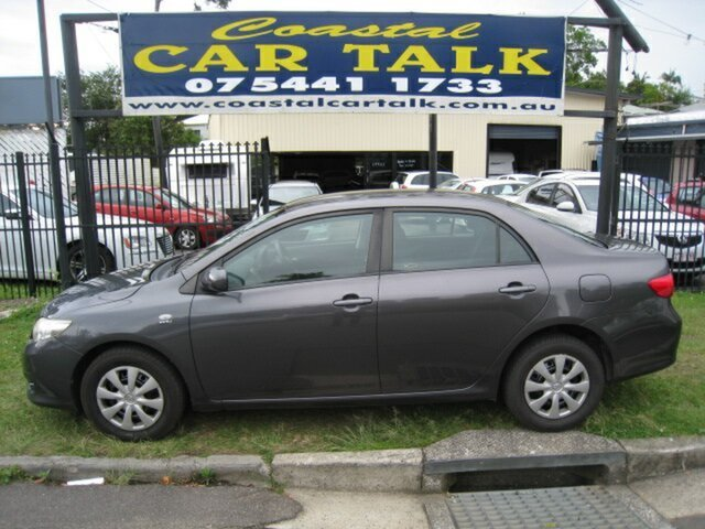 Used Toyota Corolla ZRE152R Ascent, 2007 Toyota Corolla ZRE152R Ascent Brown 4 Speed Automatic Sedan