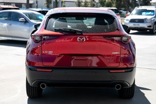 2020 Mazda CX-30 C30A X20 Astina (AWD) M Hybrid Soul Red Crystal 6 Speed Automatic Wagon.