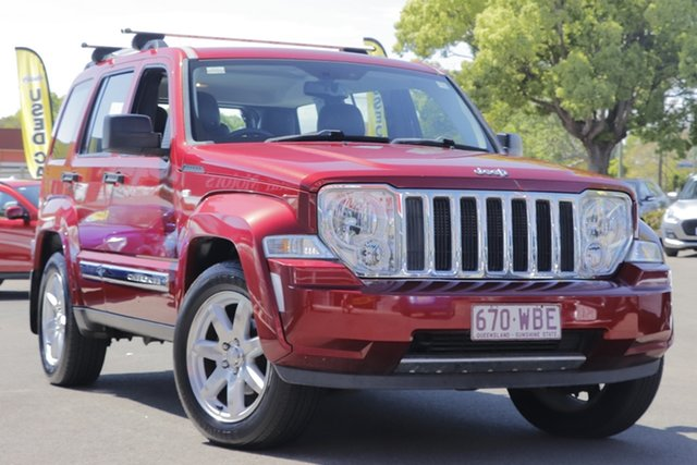 Used Jeep Cherokee KK MY11 Limited, 2010 Jeep Cherokee KK MY11 Limited Red 4 Speed Automatic Wagon