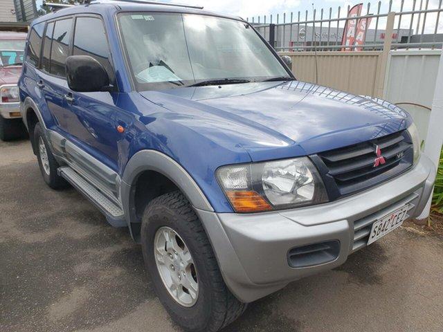 Used Mitsubishi Pajero NM GLS, 2001 Mitsubishi Pajero NM GLS Blue Sapphire & Silver 5 Speed Sports Automatic Wagon