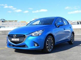 2014 Mazda 2 DJ2HAA Genki SKYACTIV-Drive Blue 6 Speed Sports Automatic Hatchback