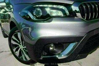 2020 Suzuki S-Cross JY Turbo Prestige Galactic Grey 6 Speed Sports Automatic Hatchback.