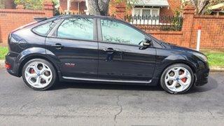 2010 Ford Focus LV Mk II XR5 Turbo Black 6 Speed Manual Hatchback