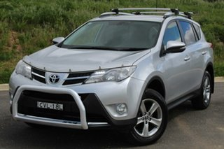 2014 Toyota RAV4 ALA49R MY14 Upgrade GXL (4x4) Silver Pearl 6 Speed Automatic Wagon.