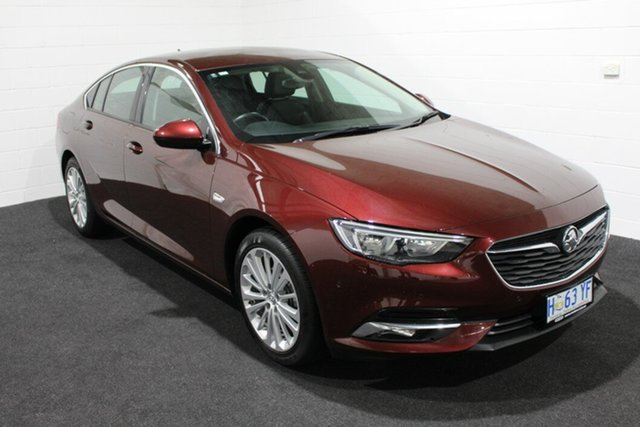 Used Holden Calais ZB MY18 Liftback, 2018 Holden Calais ZB MY18 Liftback Burgundy 9 Speed Sports Automatic Liftback
