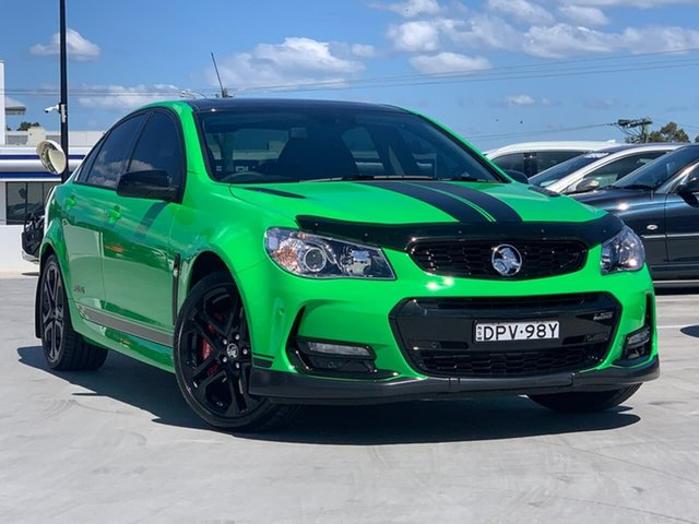 Used Holden Commodore VF II MY17 SS V Redline Liverpool, 2017 Holden Commodore VF II MY17 SS V Redline Green 6 Speed Sports Automatic Sedan