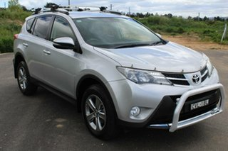 2014 Toyota RAV4 ALA49R MY14 Upgrade GXL (4x4) Silver Pearl 6 Speed Automatic Wagon
