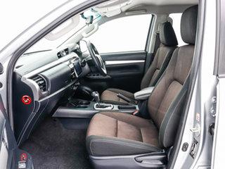 2017 Toyota Hilux GUN126R MY17 SR5 (4x4) Silver 6 Speed Automatic Dual Cab Utility