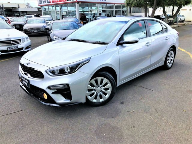 Used Kia Cerato BD MY20 S, 2019 Kia Cerato BD MY20 S Silver 6 Speed Sports Automatic Sedan