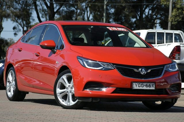 Used Holden Astra BL MY17 LTZ, 2017 Holden Astra BL MY17 LTZ Red 6 Speed Sports Automatic Sedan