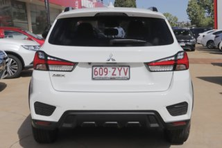 2020 Mitsubishi ASX XD MY20 Exceed 2WD White 1 Speed Constant Variable Wagon