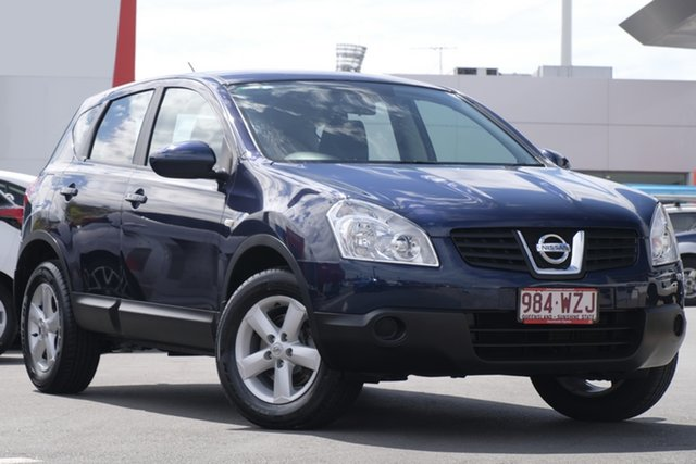 Used Nissan Dualis J10 ST X-tronic AWD, 2009 Nissan Dualis J10 ST X-tronic AWD Blue 6 Speed Constant Variable Hatchback