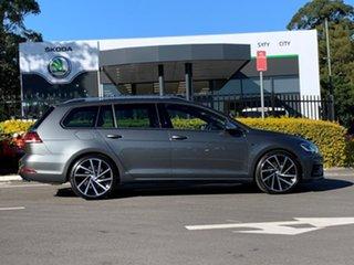 2020 Volkswagen Golf 7.5 MY20 R DSG 4MOTION Grey 7 Speed Sports Automatic Dual Clutch Wagon.