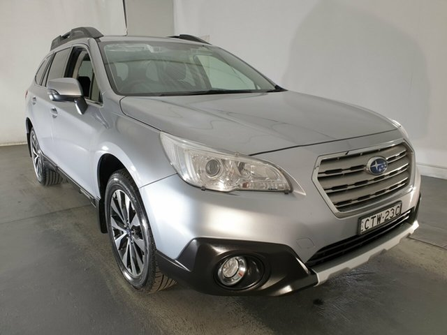 Used Subaru Outback B6A MY15 2.5i CVT AWD, 2014 Subaru Outback B6A MY15 2.5i CVT AWD Silver 6 Speed Constant Variable Wagon