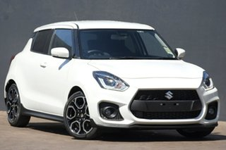 2020 Suzuki Swift AZ Series II Sport Pure White Pearl 6 Speed Manual Hatchback.