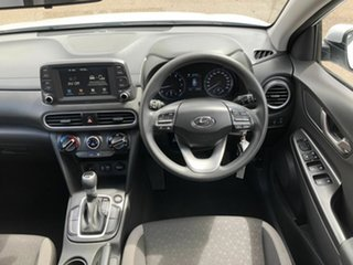 2019 Hyundai Kona OS.3 MY20 Go 2WD White 6 Speed Sports Automatic Wagon