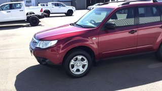 2011 Subaru Forester S3 MY11 X AWD Red 4 Speed Sports Automatic Wagon.