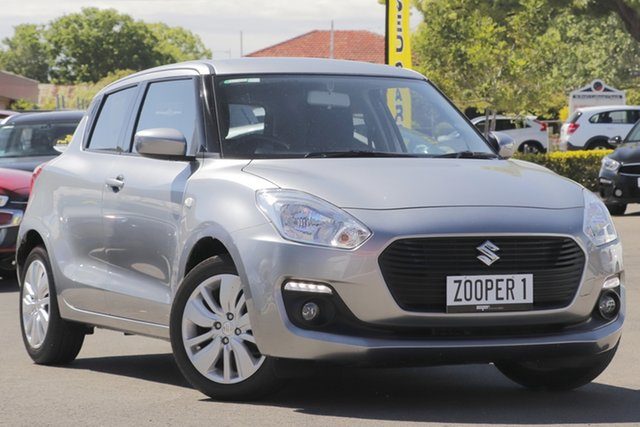 Used Suzuki Swift AZ GL Navigator, 2018 Suzuki Swift AZ GL Navigator Silver 5 Speed Manual Hatchback