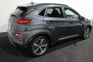2020 Hyundai Kona OS.3 MY20 Highlander D-CT AWD Grey 7 Speed Sports Automatic Dual Clutch Wagon.