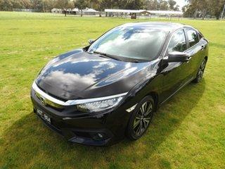 2016 Honda Civic VTI-LX Black Continuous Variable Sedan