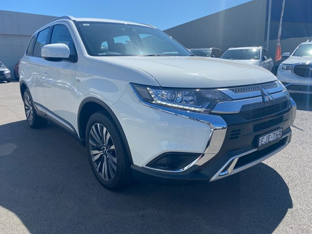 Used Mitsubishi Outlander ZL MY19 ES 2WD, 2019 Mitsubishi Outlander ZL MY19 ES 2WD White 6 Speed Constant Variable Wagon