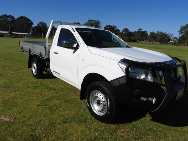 Used Nissan Navara  , 2020 Nissan Navara RX White 6 Speed Manual Cab Chassis