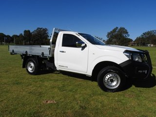 2020 Nissan Navara RX White 6 Speed Manual Cab Chassis