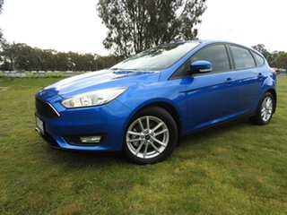 2017 Ford Focus TREND Blue 6 Speed Automatic Hatchback.