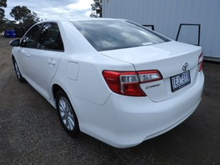 2015 Toyota Camry ALTISE White 5 Speed Automatic Sedan