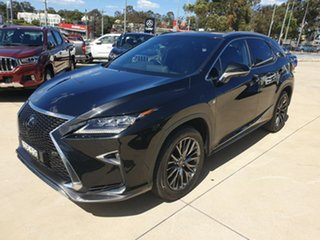 2018 Lexus RX GGL25R RX350 F Sport Black 8 Speed Sports Automatic Wagon.