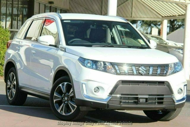 New Suzuki Vitara LY Series II Turbo 2WD, 2020 Suzuki Vitara LY Series II Turbo 2WD Cool White 6 Speed Sports Automatic Wagon