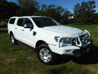 2017 Ford Ranger XLT White 6 Speed Automatic Utility.