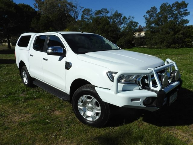 Used Ford Ranger  , 2017 Ford Ranger XLT White 6 Speed Automatic Utility