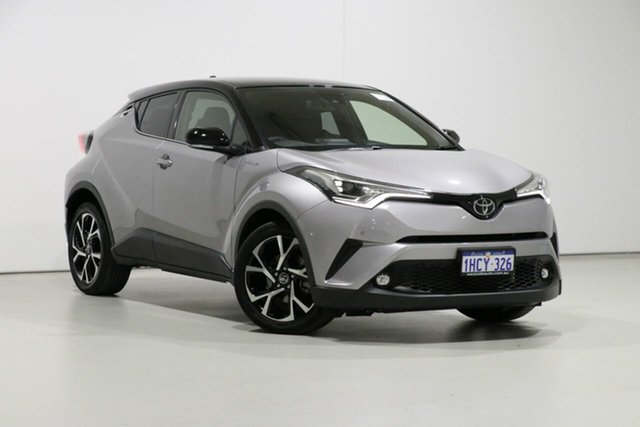 Used Toyota C-HR NGX10R Koba (2WD), 2017 Toyota C-HR NGX10R Koba (2WD) Silver Continuous Variable Wagon
