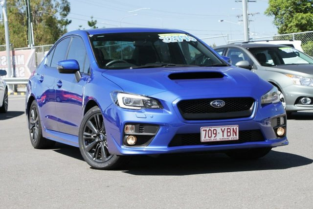 Used Subaru WRX V1 MY15 Premium Lineartronic AWD, 2014 Subaru WRX V1 MY15 Premium Lineartronic AWD Blue 8 Speed Constant Variable Sedan