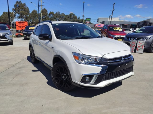 Used Mitsubishi ASX XC MY19 Black Edition 2WD, 2019 Mitsubishi ASX XC MY19 Black Edition 2WD White 1 Speed Constant Variable Wagon